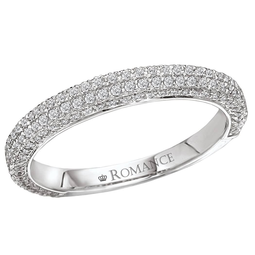 Diamond Wedding Bands: Micro Pave Diamond Wedding Bands With Micro Pave Wedding Bands (View 4 of 15)