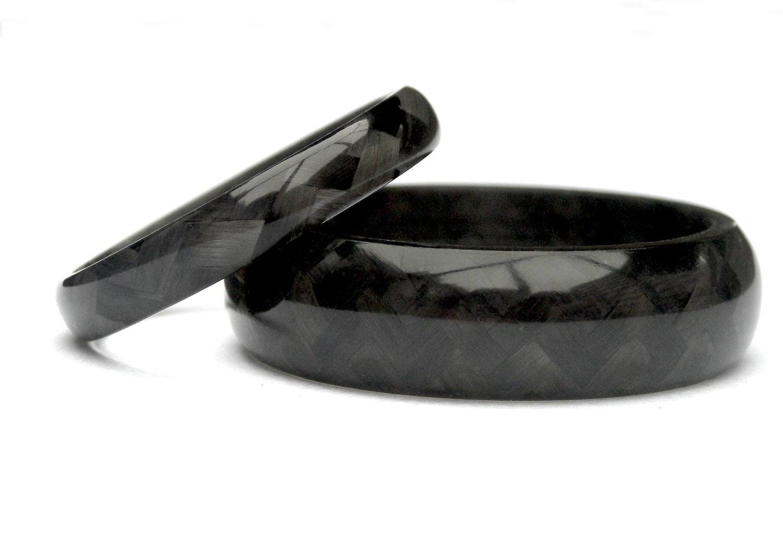 Download Carbon Fiber Wedding Rings | Wedding Corners Inside Carbon Wedding Bands (View 11 of 15)
