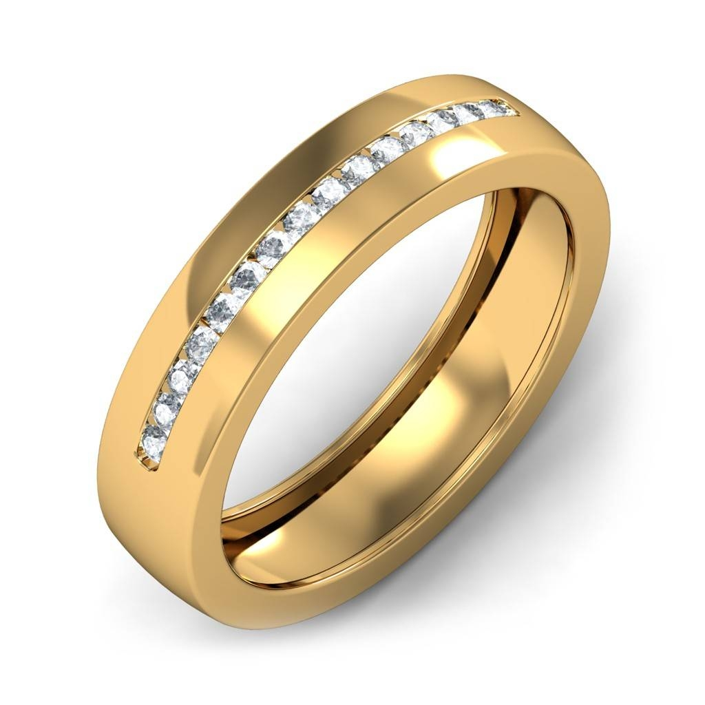 Download Gold Wedding Rings For Men | Wedding Corners Inside Gold Wedding Bands For Men (View 11 of 15)