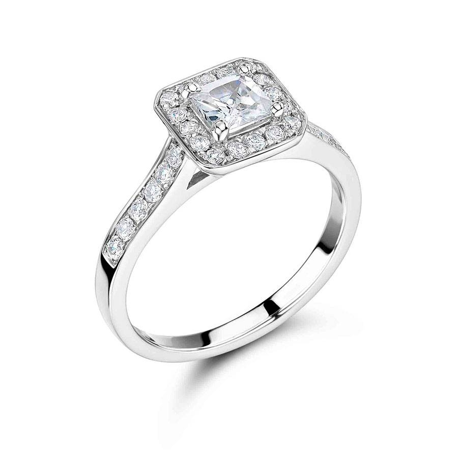 ▷ Engagement Rings – Dublin – Make An Appointment Now (01) 677 8449 With Regard To Halo Style Diamond Engagement Rings (View 1 of 15)