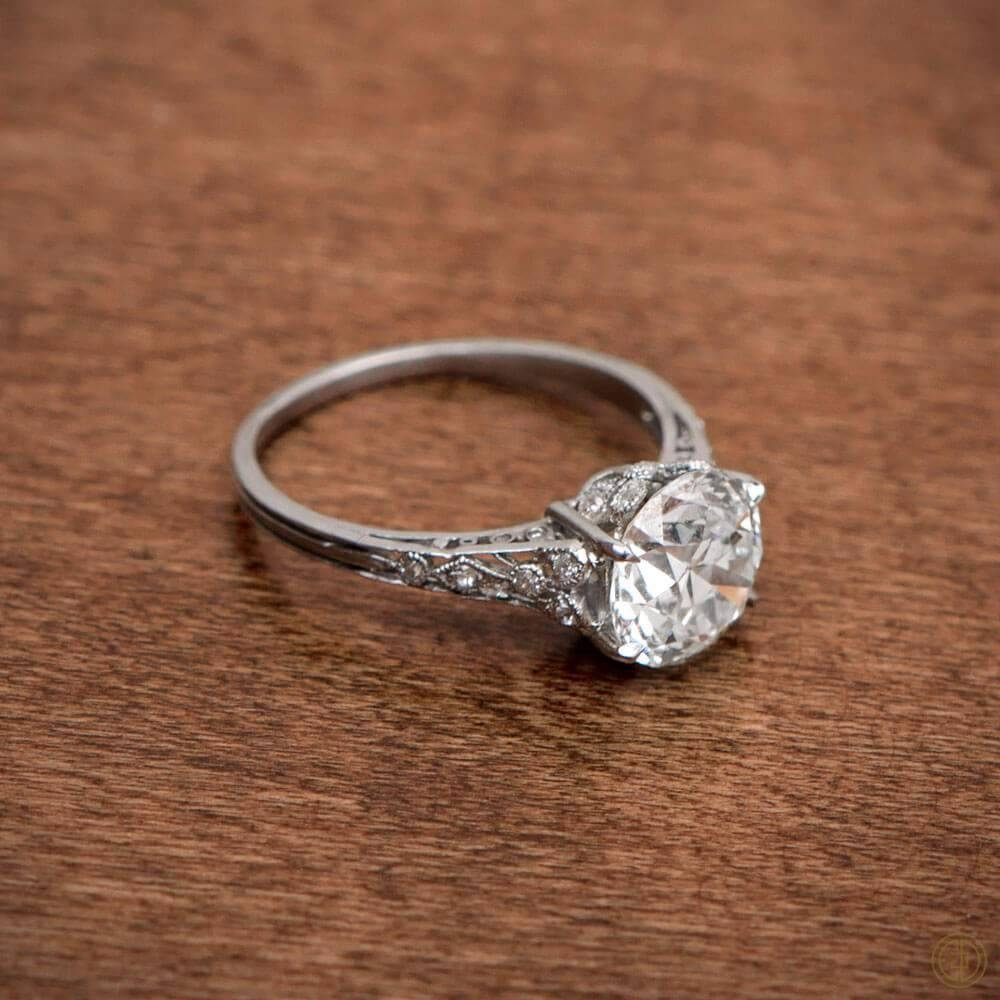 Edwardian Era Engagement Rings & More | Most Popular In Estate Wedding Rings (View 3 of 15)