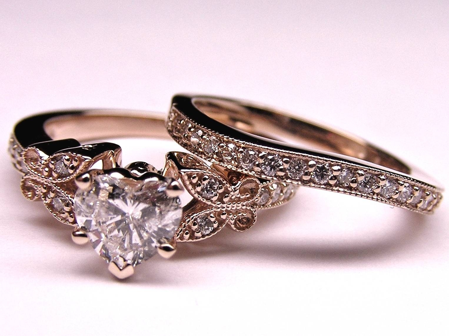 Featured Photo of Vintage Engagement Rings And Wedding Bands