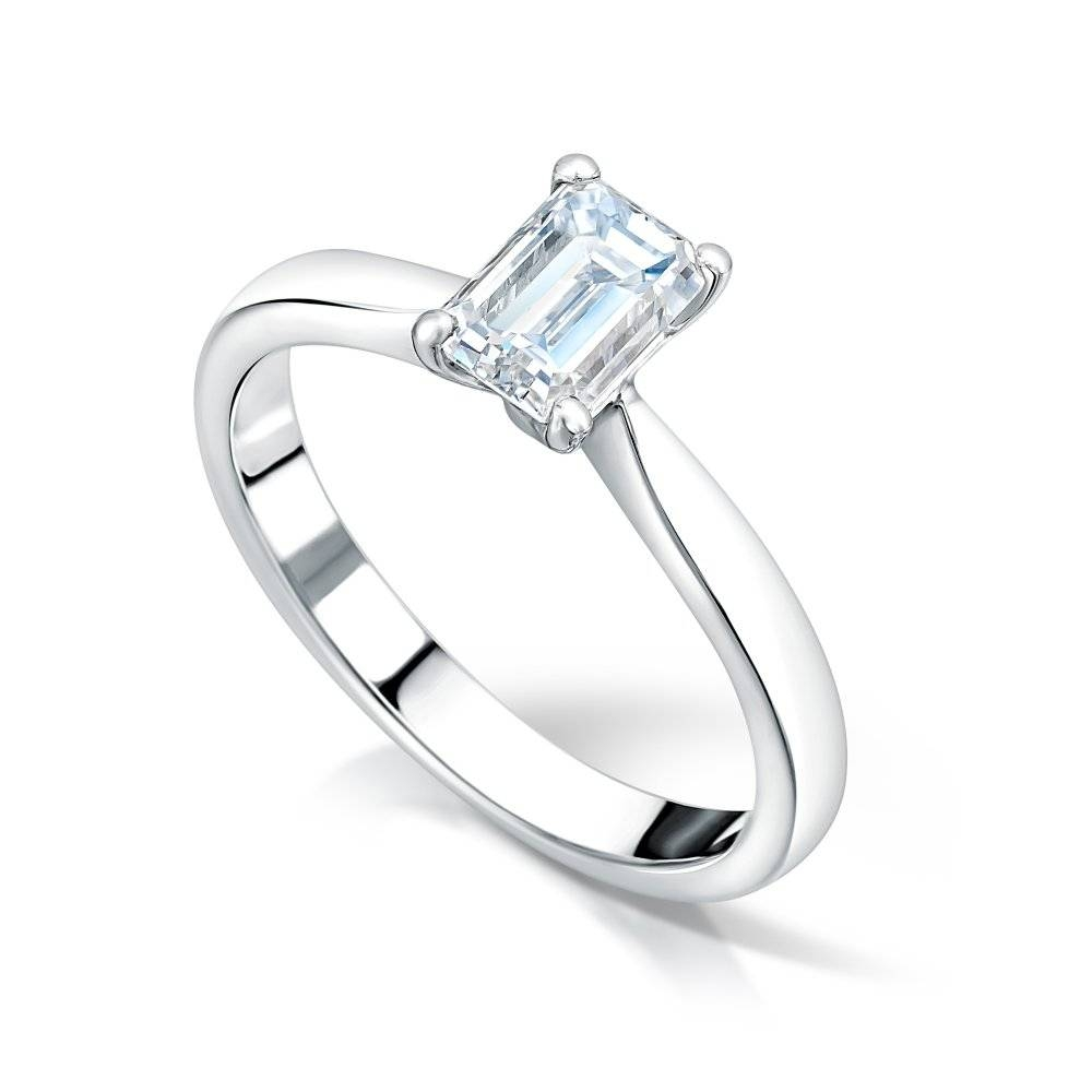 Engagement Rings – Clearwater Diamonds, Jewellery Quarter – Birmingham Regarding Emerald Cut Engagement Rings Under  (View 12 of 15)