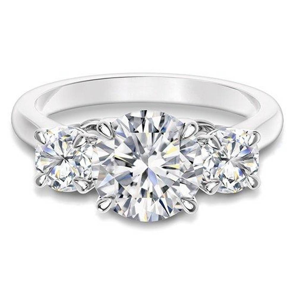Engagement Rings — Fink's Jewelers With Regard To 3 Band Engagement Rings (Gallery 10 of 15)