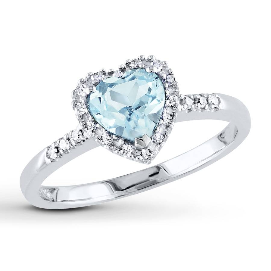 Wedding Rings Aquamarine 15 Best Collection Of Diamond Aquamarine Engagement Rings