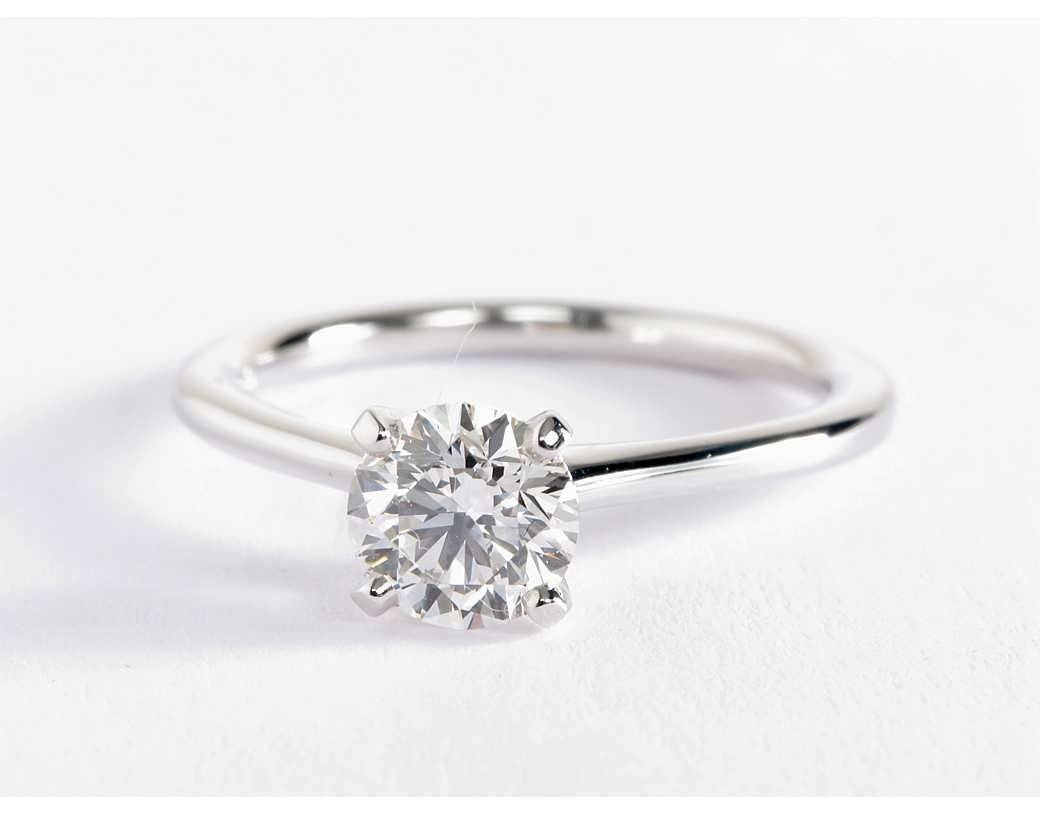 Engagement Rings White Gold | Wedding, Promise, Diamond Intended For 14K White Gold Engagement Rings (Gallery 14 of 15)