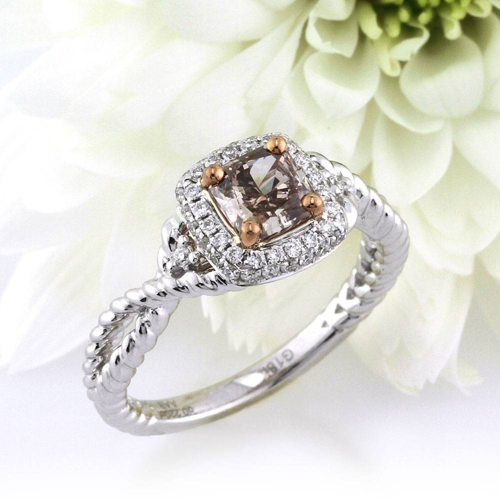 Fancy Color Engagement Rings – Simply Sweet Chocolate Diamonds Within Chocolate Diamonds Wedding Rings (View 5 of 15)