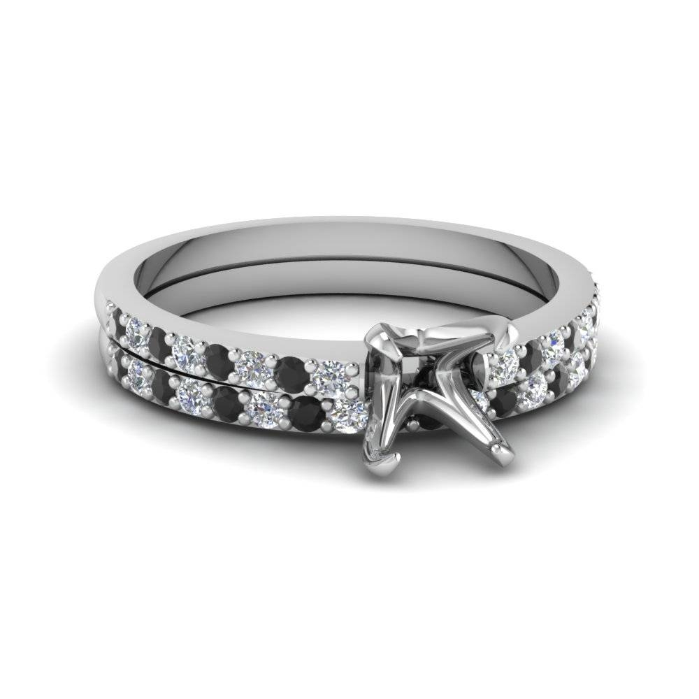 Filigree Halo Bezel Round Diamond Ring Settings In White Gold In Wedding Rings Mounts Without Center Stone (Gallery 8 of 15)
