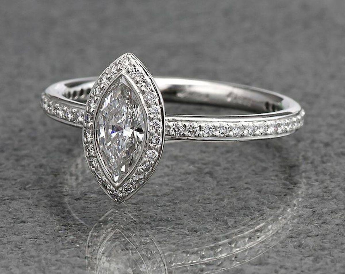Five Magnificent Marquise Engagement Rings | Ritani For Marquise Diamond Engagement Rings Settings (View 6 of 15)
