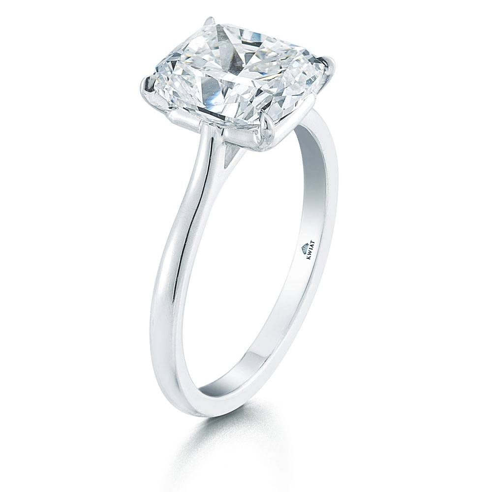 Floating Solitaire Diamond Rings   Wedding, Promise, Diamond Regarding Floating Diamond Engagement Rings (Gallery 9 of 15)