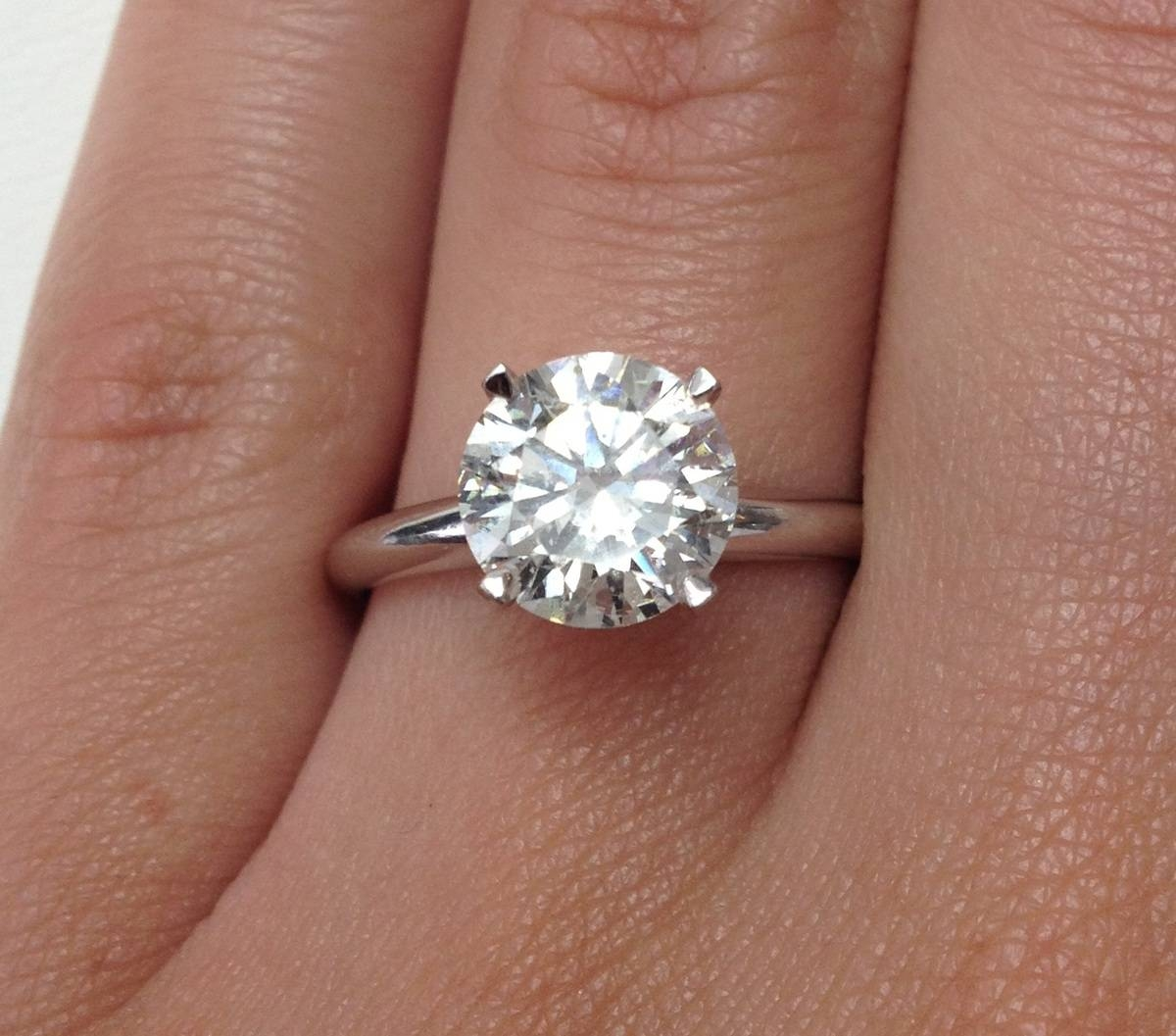 Free Diamond Rings. 2 Carat Diamond Ring Tiffany: 2 Carat Diamond In 2.0 Carat Diamond Engagement Ring (Gallery 11 of 15)