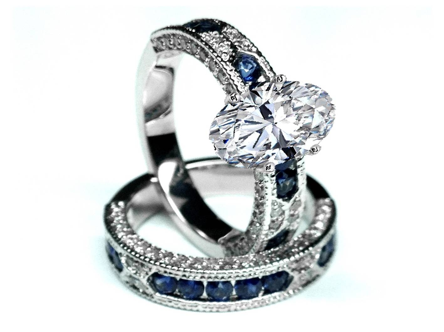 Free Diamond Rings. Antique Blue Diamond Engagement Rings: Antique With Regard To Colored Diamond Wedding Bands (Gallery 10 of 15)