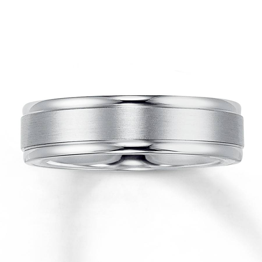Gold Band Diamond Wedding Rings Tags : White Gold Wedding Rings With Regard To White Gold Wedding Bands For Men (View 13 of 15)