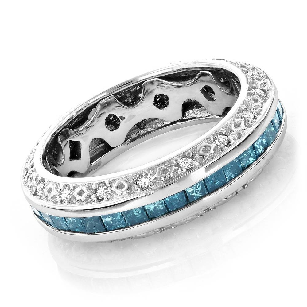 15 Best of Colored Diamond Wedding Bands