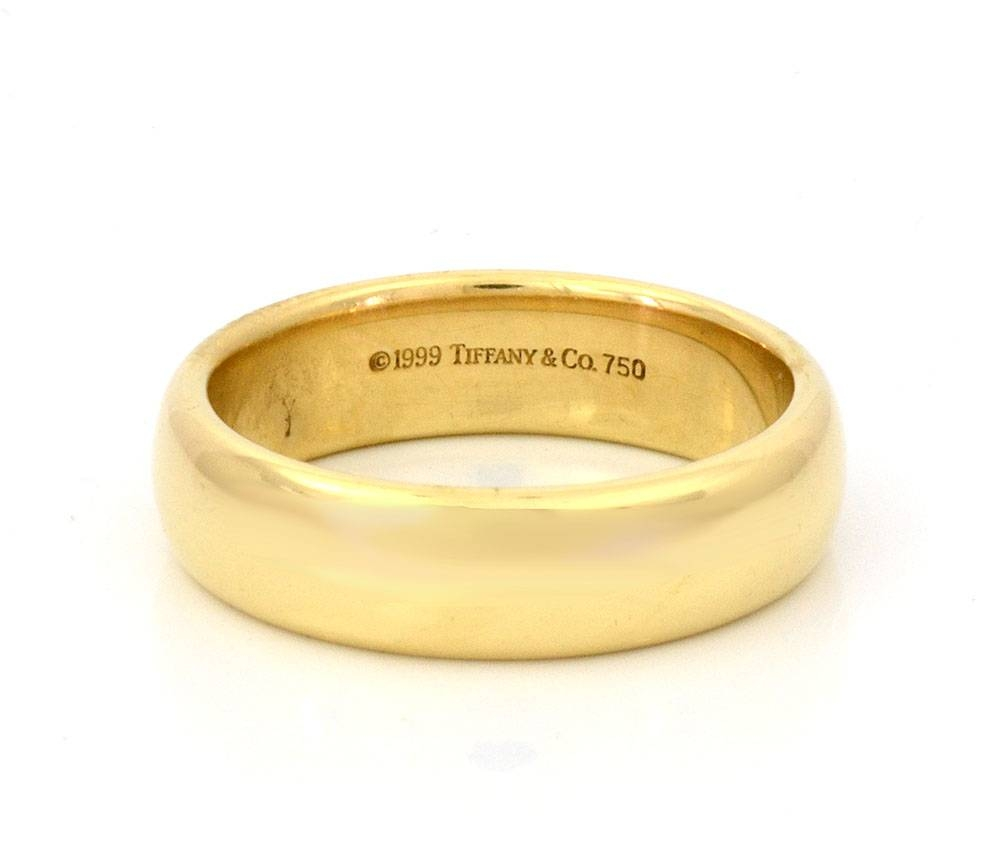 Gold Wedding Ring For Man Gold Mens Wedding Bands Picture Tiffany For Male Gold Wedding Bands (View 9 of 15)