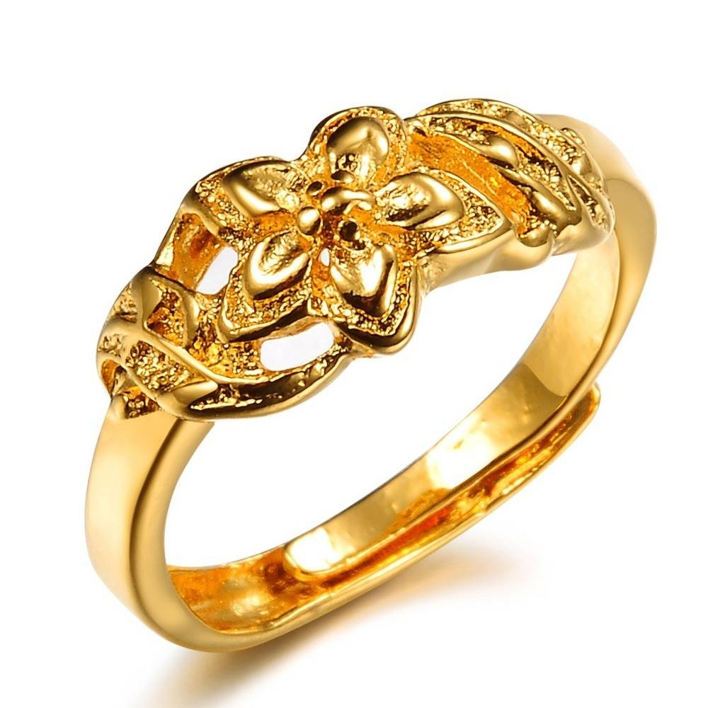 Gold Wedding Ring On Finger Hd |Gold Ring | Diamantbilds Pertaining To Gold Wedding Rings For Women (View 8 of 15)