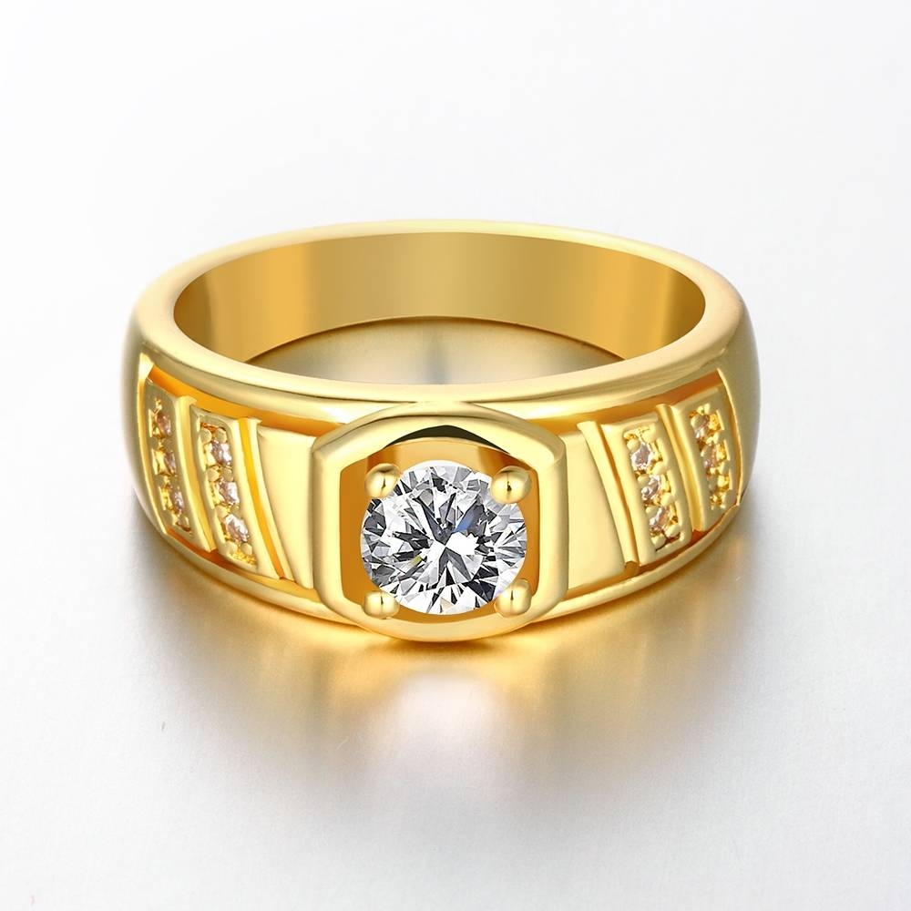 Gold Wedding Rings For Men Luxury Design | Wedding Ring Ideas With Wedding Rings For Men Gold (View 8 of 15)