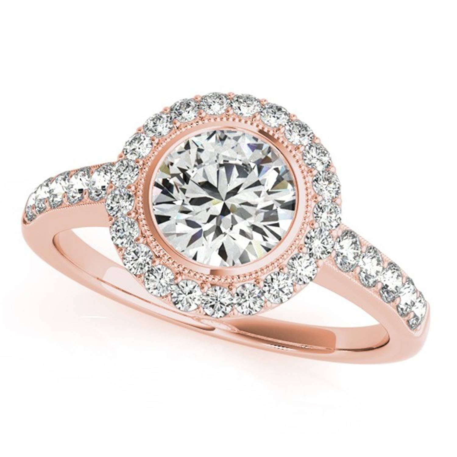 Halo Engagement Ring Settings – New Wedding Ideas Trends Intended For Vintage Halo Engagement Ring Settings (View 9 of 15)
