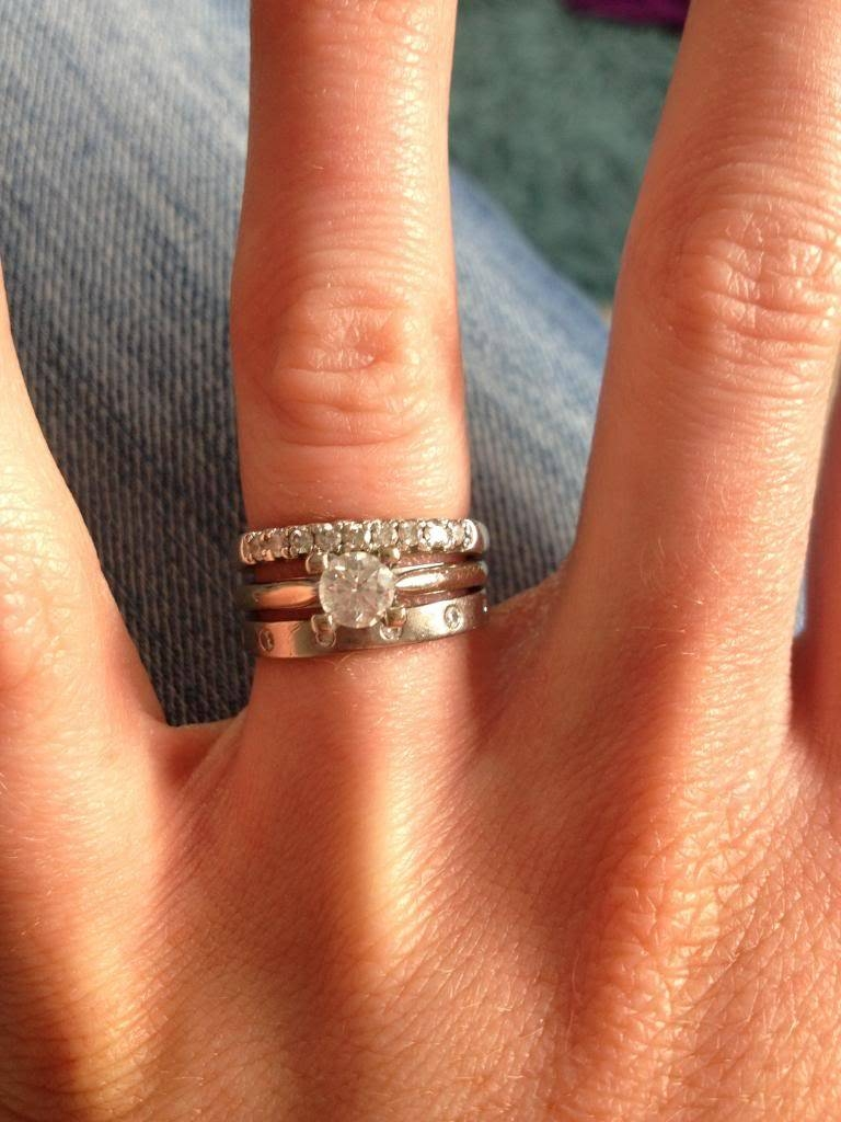Honest Opinions Please – Wedding Ring – Page 8 – Babycentre Regarding Latest Eternity Rings With Wedding Bands (View 6 of 15)