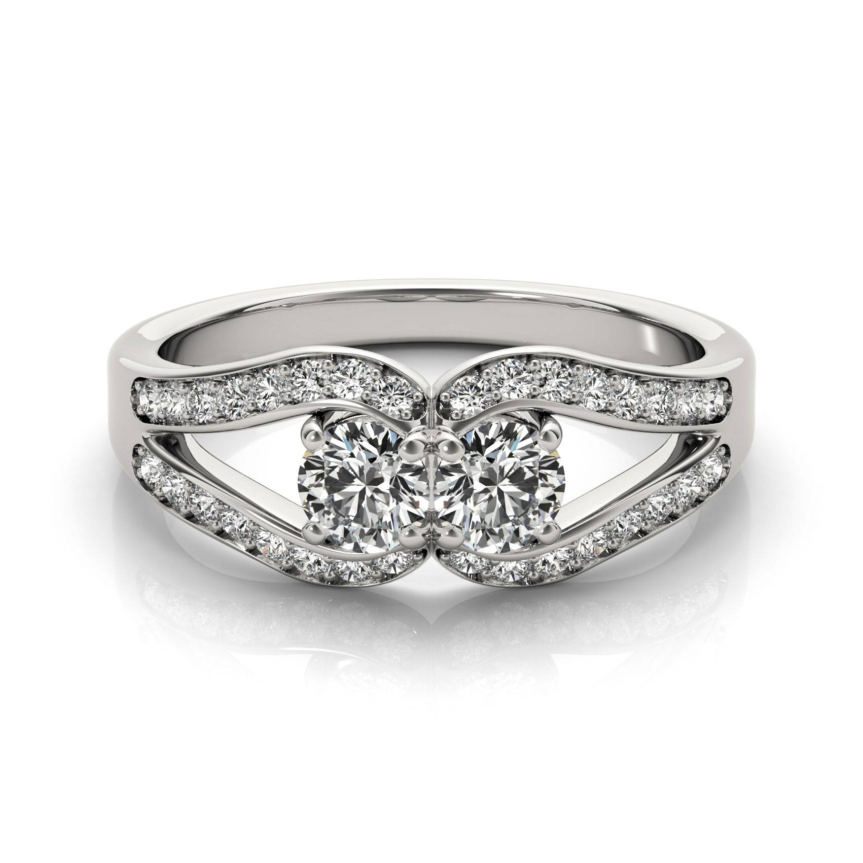 Horseshoe – European Engagement Rings From Mdc Diamonds Nyc For Horseshoe Diamond Engagement Rings (View 3 of 15)