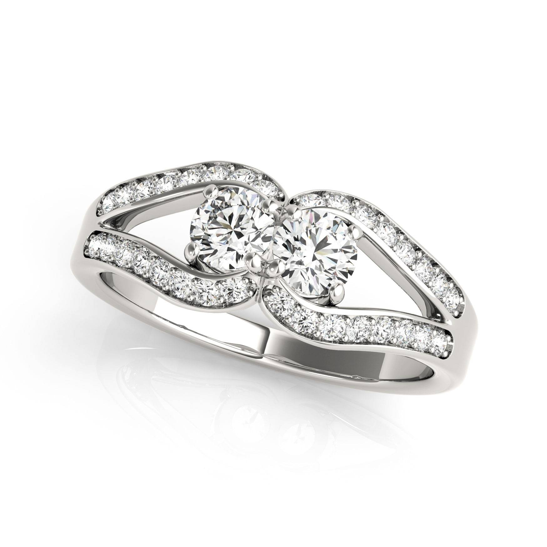 Featured Photo of Horseshoe Diamond Engagement Rings