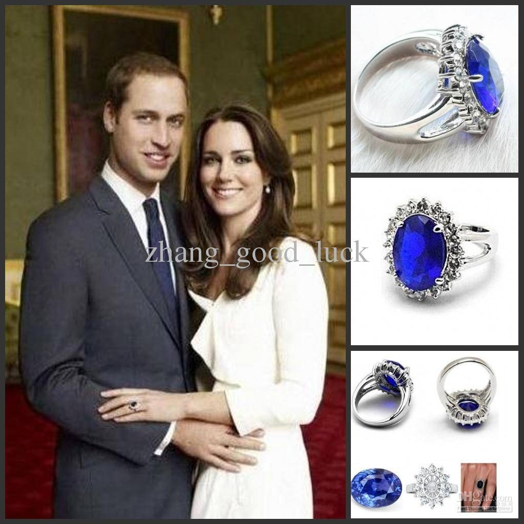 Hot Selling Prince William & Kate Engagement Ring Rings Vbgfjm Regarding Best And Newest Diana Wedding Bands (Gallery 1 of 15)