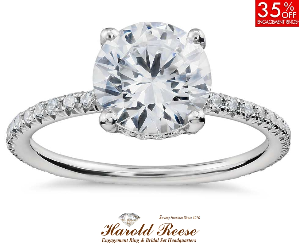Houston Jewelry Stores | Wholesale Diamonds Jeweler – Harold Reese For Houston Engagement Rings (View 7 of 15)