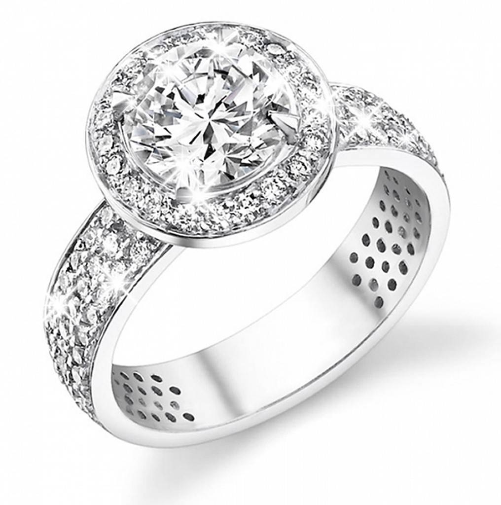 Infinity Diamond Wedding Band Glamorous Womens Wedding Rings Regarding Women Diamond Wedding Rings (View 7 of 15)