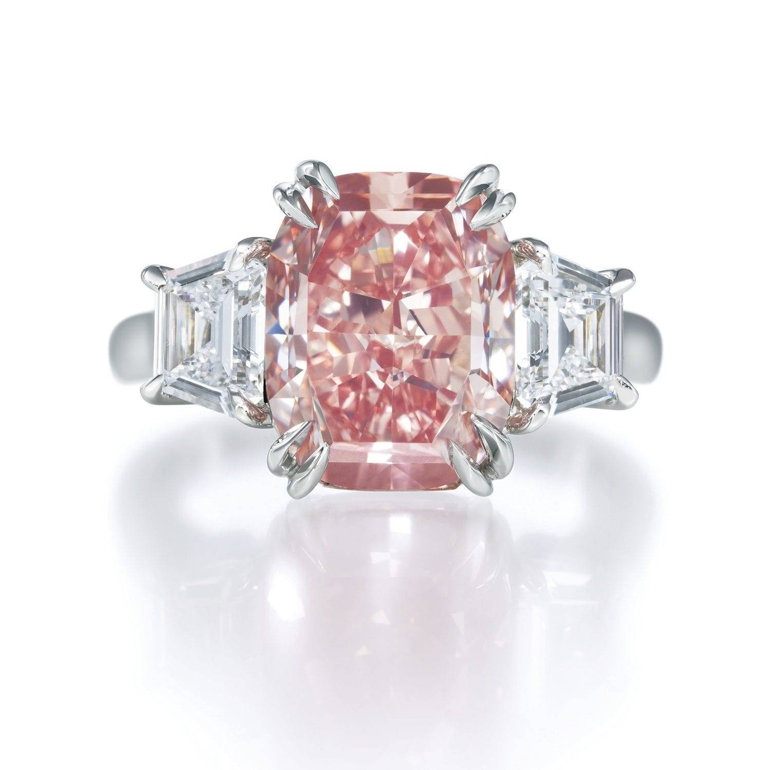 Inspiredthe Pink Star Diamond? 20 Spectacular Pink Diamond Pertaining To Pink And Diamond Engagement Rings (Gallery 1 of 15)