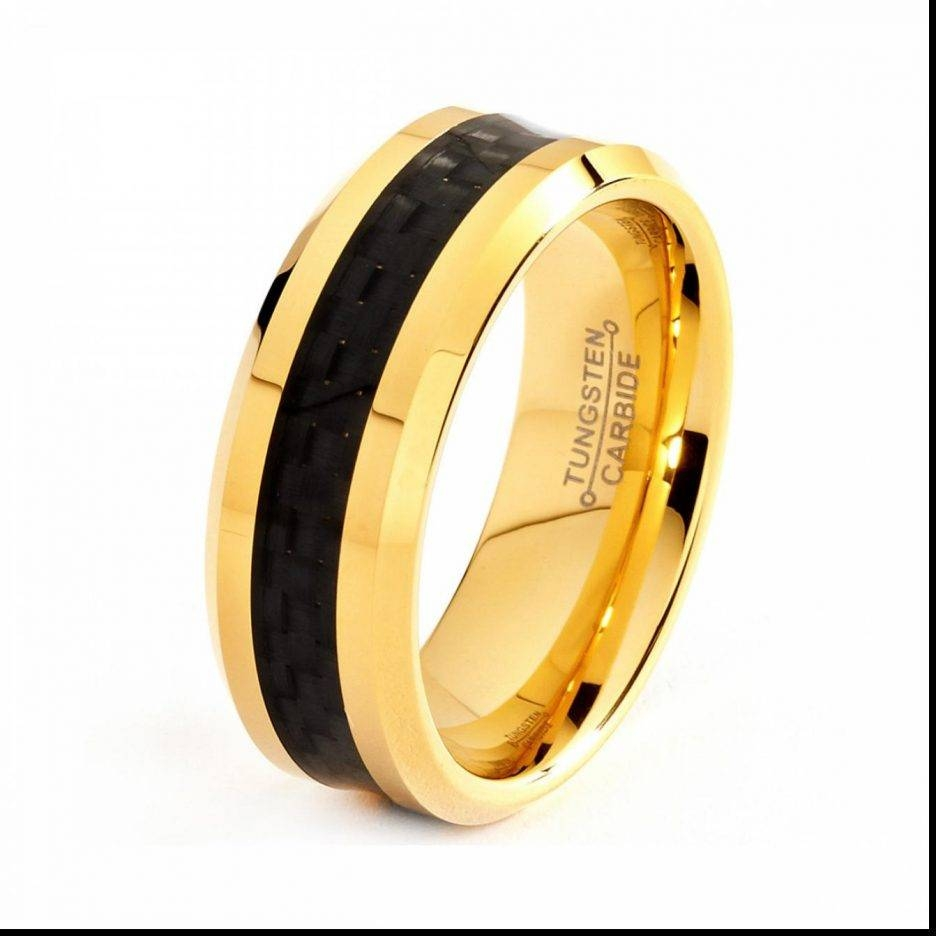 Jewelry Rings: Cheap Black Gold Wedding Ringsr Men Etsy Hills In Black And Gold Wedding Bands For Men (Gallery 5 of 15)