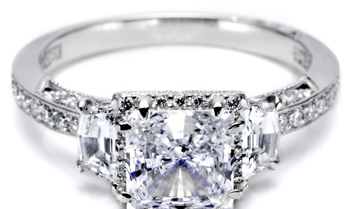 Jewelry Rings: Engagement Rings And Wedding Band Sets Stunning Intended For Cheap Diamond Wedding Bands (View 9 of 15)