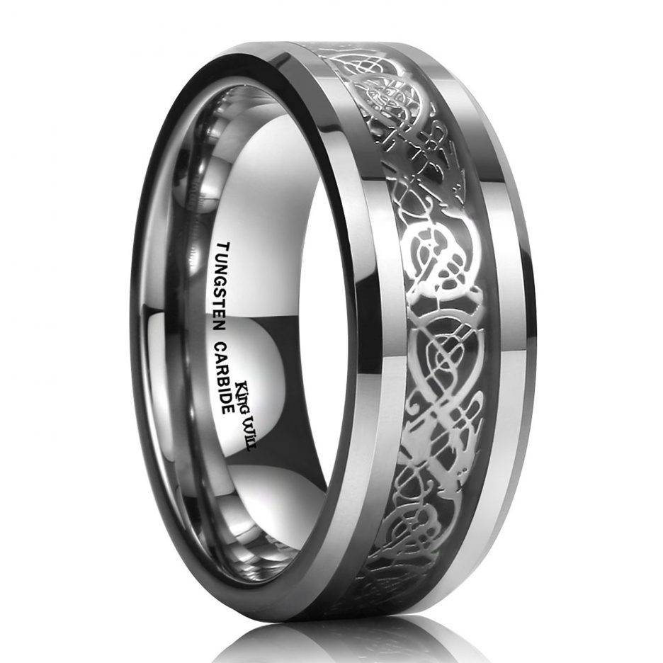 Jewelry Rings: Guys Weddingngs Mens White Gold Band Guy Bands Intended For Guys Wedding Bands (View 12 of 15)