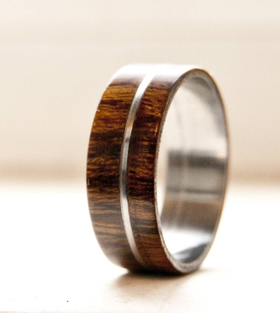 Juniper Heart Wood Ringswith Mesmerizing Wooden Wedding Rings Within Wood Wedding Bands (View 8 of 15)
