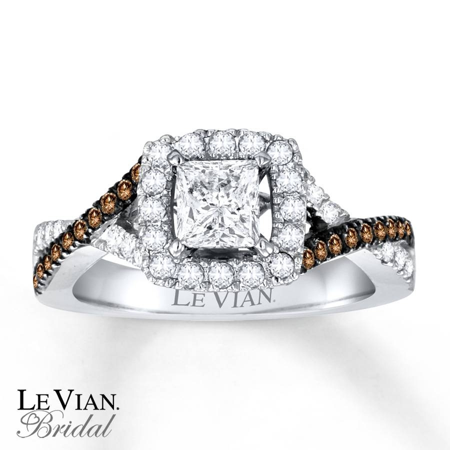 Kay – Le Vian Bridal Chocolate Diamonds 14K Gold Engagement Ring In Chocolate Diamonds Wedding Rings (View 7 of 15)