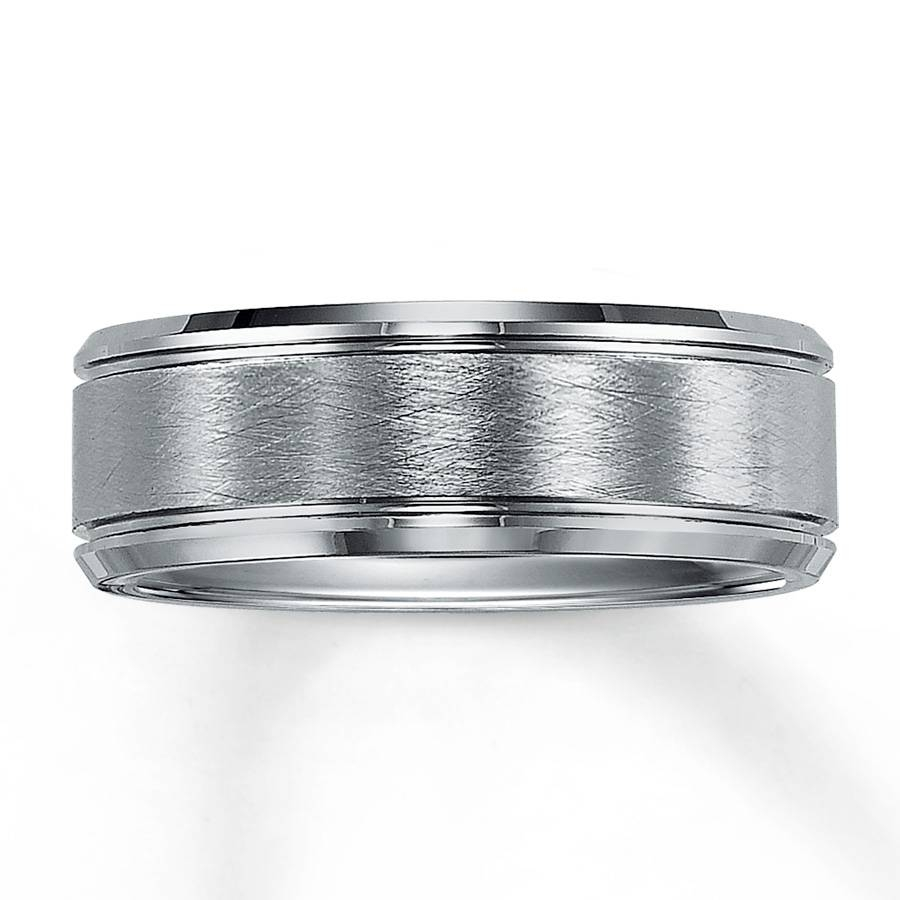 Kay – Wedding Band Tungsten Carbide 8Mm With 8Mm Tungsten Carbide Wedding Bands (View 11 of 15)