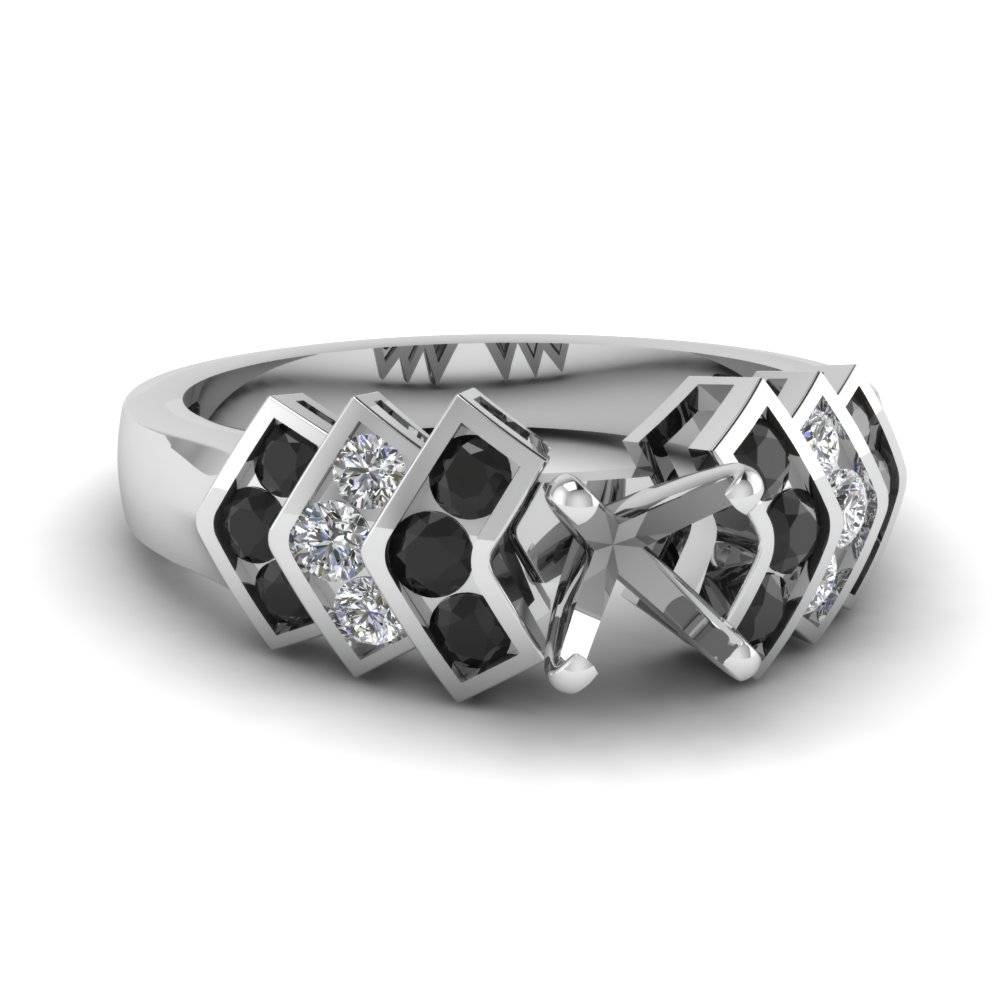 Know Designer Engagement Ring Setting Intended For Wedding Rings Mounts Without Center Stone (View 4 of 15)
