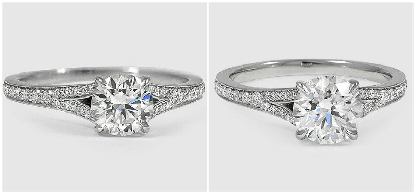 Lab Grown Diamonds Vs. Real Diamonds | Brilliant Earth In Lab Diamonds Engagement Rings (Gallery 4 of 15)