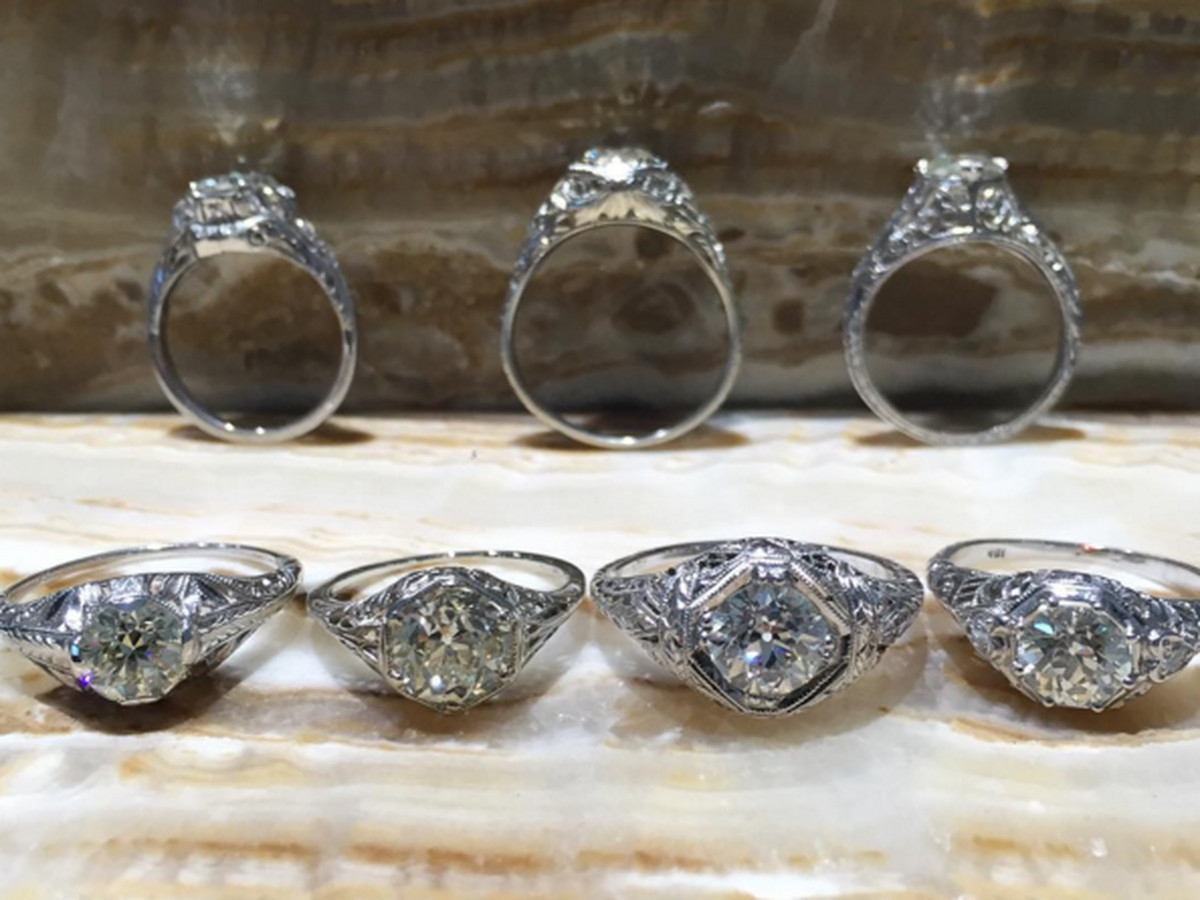 La's 15 Best Jewelry Stores For Stunning Engagement Rings Regarding Jewelry Stores Wedding Rings (View 12 of 15)