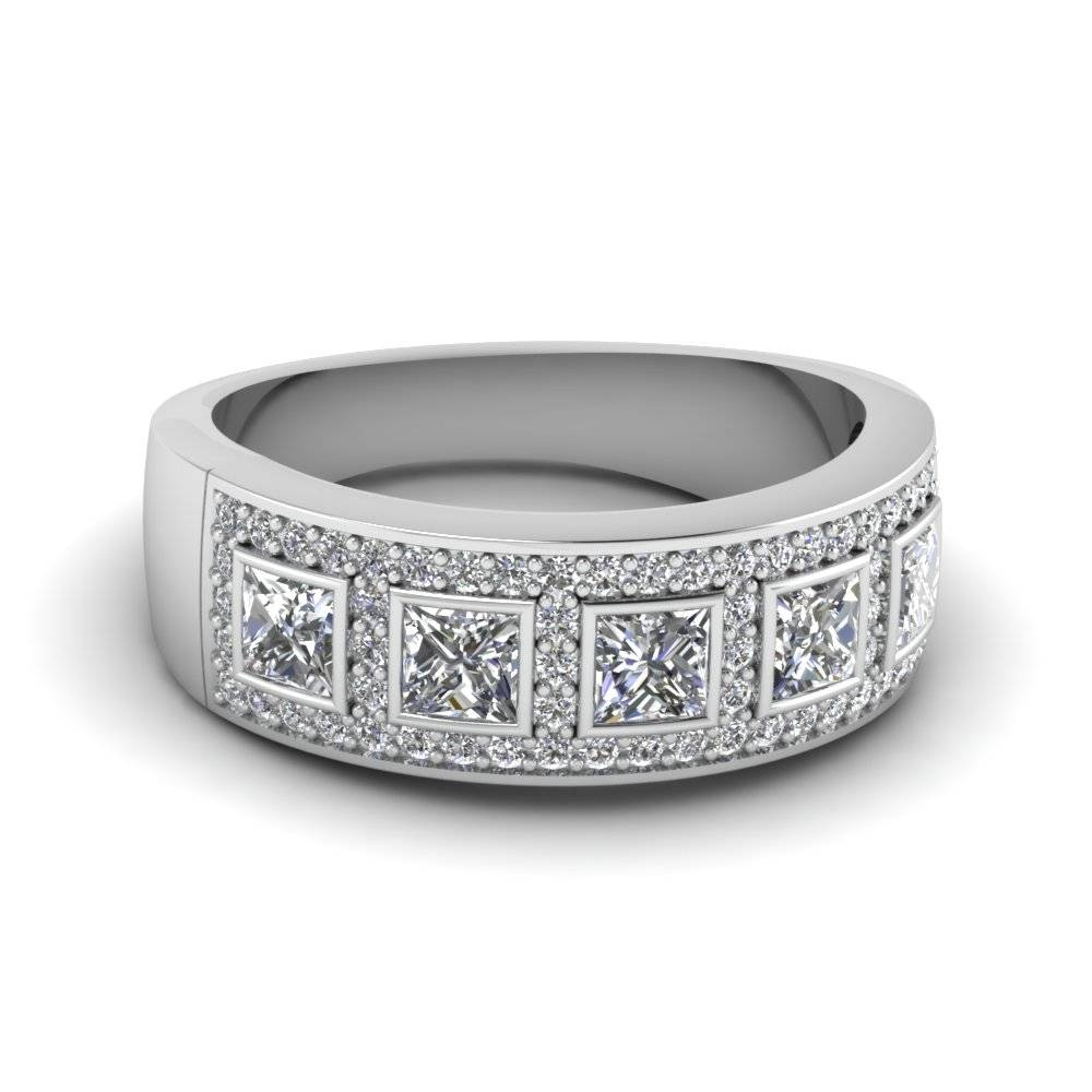Launching Womens Diamond Wedding Bands | Fascinating Diamonds Inside White Gold Diamond Wedding Bands For Women (Gallery 14 of 15)