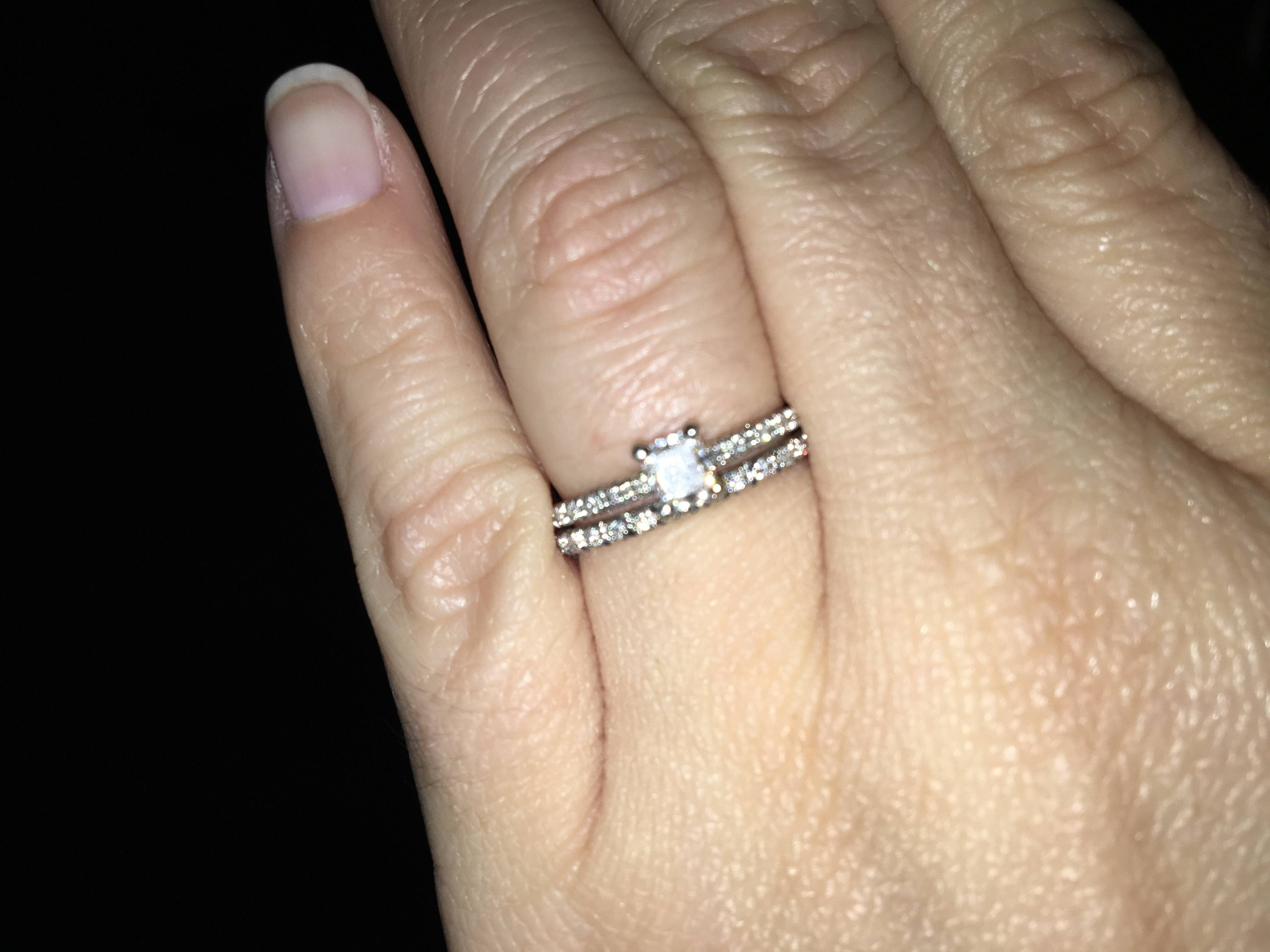 Lets See Your James Allen Rings! – Weddingbee In 2017 French Wedding Bands (View 12 of 15)