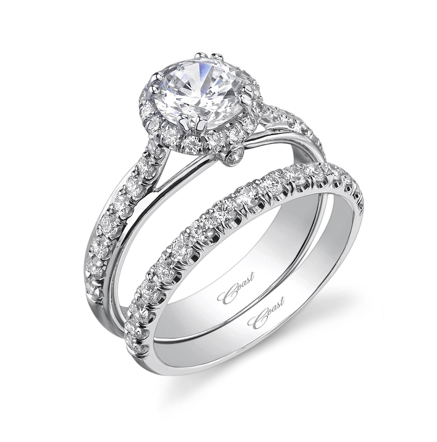 Lorelli's Jewelry | Lc5221 Wc5221A With Halo Style Diamond Engagement Rings (View 9 of 15)