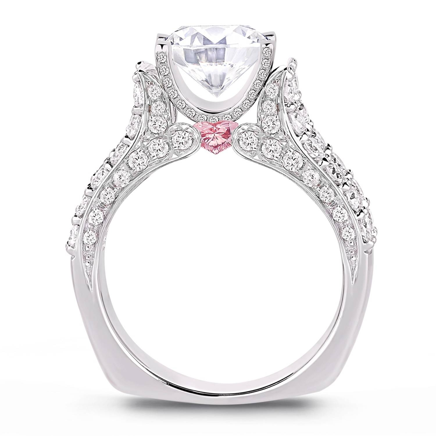 Lugaro | Argyle Pink Diamond Engagement Ring Within Pink And Diamond Engagement Rings (View 9 of 15)