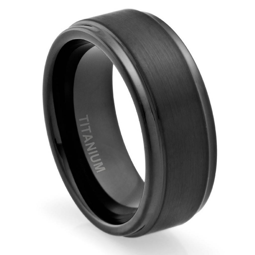 Men Wedding Bands – Wedding Definition Ideas Regarding Titanium Wedding Bands For Him (View 10 of 15)