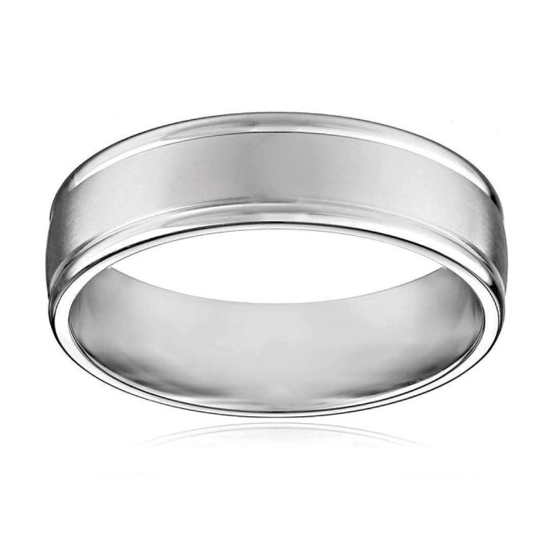 15 Ideas Of 6mm White Gold Wedding Bands