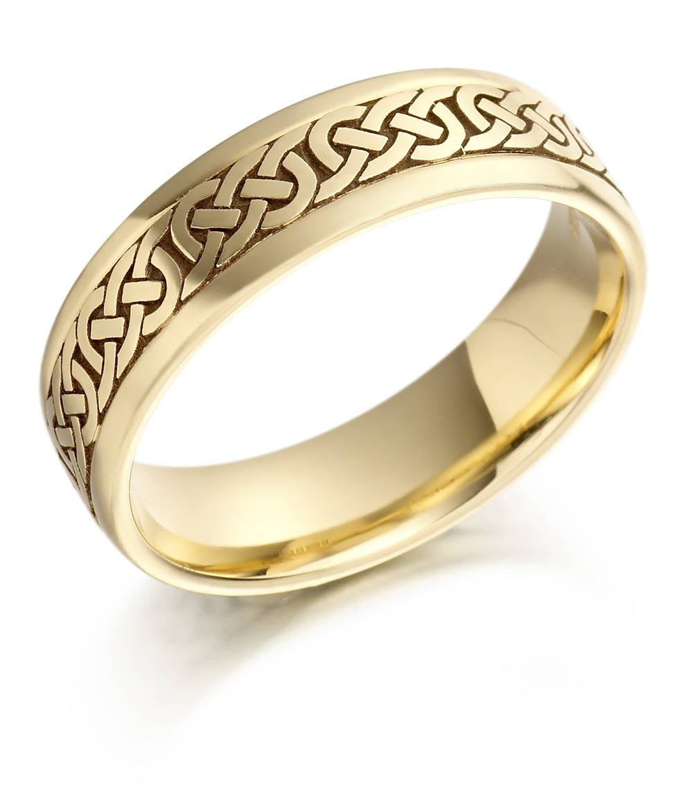 Men's Gold Wedding Rings | Cherry Marry Pertaining To Gold Wedding Bands For Men (Gallery 5 of 15)