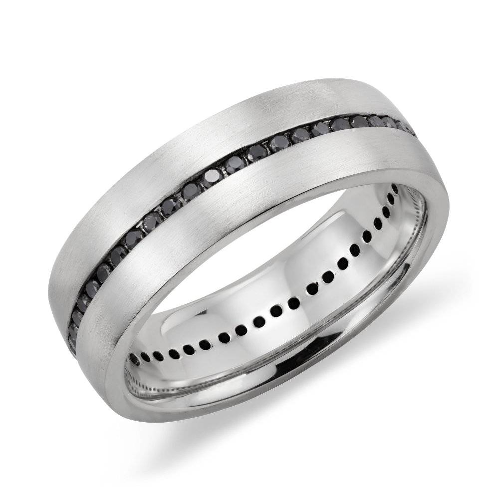 Mens Platinum Wedding Bands For The Wedding | Wedding Ideas Throughout Black Diamond Mens Wedding Bands (Gallery 13 of 15)