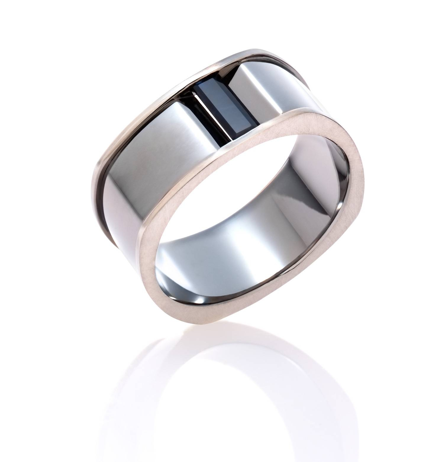Mens Wedding Bands| Mjs Jewellery – James St Fortitude Valley With Regard To Most Current Rhodium Wedding Bands (View 10 of 15)