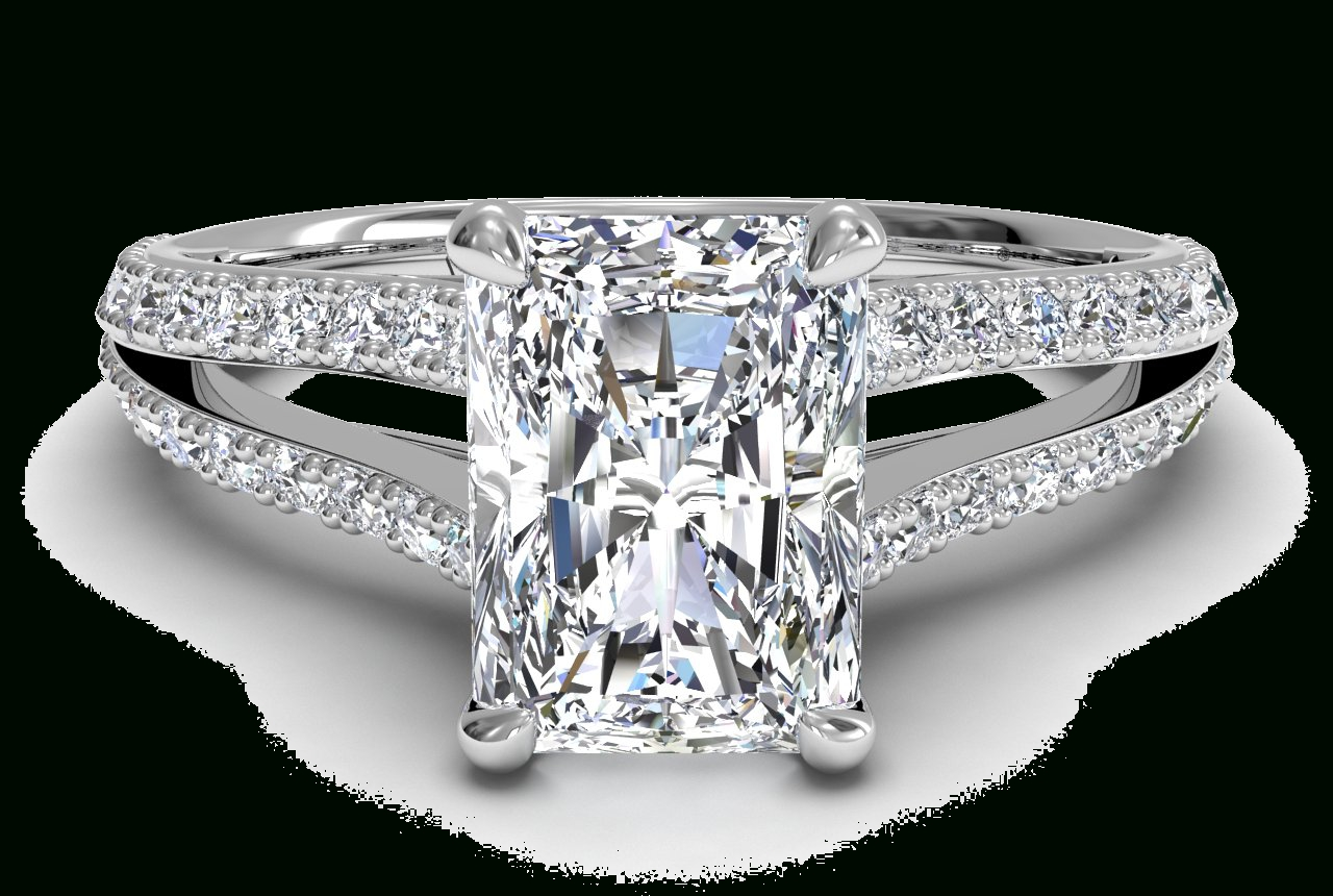 Mixed Cut Diamonds: 5 Facts You Should Know | Ritani Regarding Radiant Cut Engagement Ring Settings (Gallery 8 of 15)