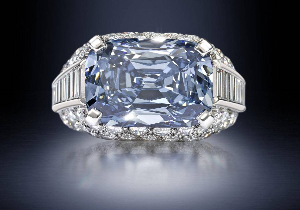 Most Expensive Engagement Ring In The World: Bvlgari Blue – Alux Inside 1 Million Dollar Engagement Rings (View 4 of 15)