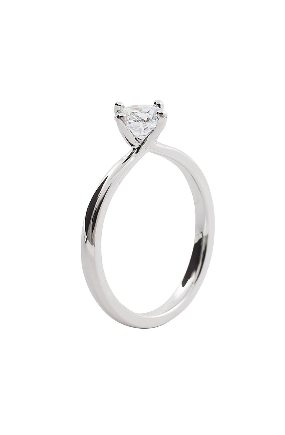Natasha Sherling | Classic Round Brilliant Within Round Solitaire Engagement Ring Settings (Gallery 14 of 15)